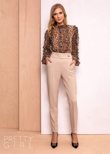 PANTALON OFFICE BEJ