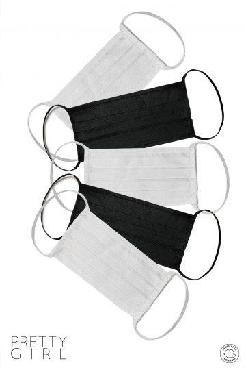 Set 5 măști textile reutilizabile