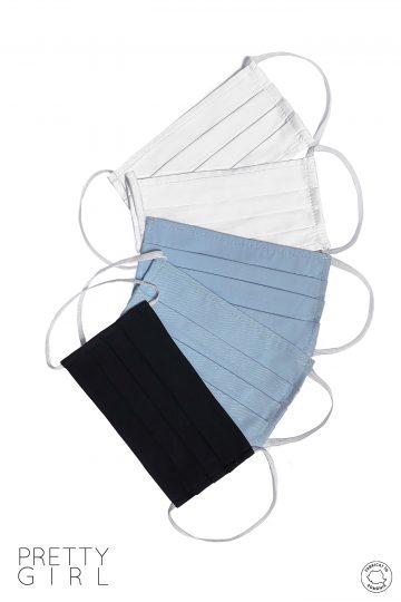 Set 5 măști textile reutilizabile din bumbac